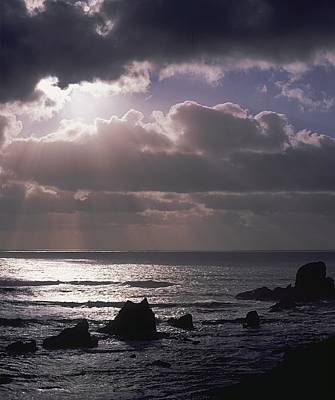 Print featuring the photograph Crepuscular Rays by Ken Dietz