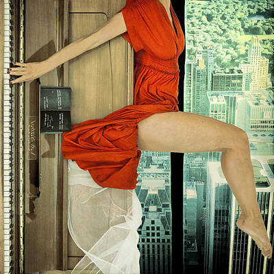 Piano Photograph - Crescendo by Ambra