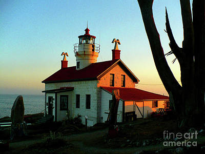 Crescent City Lighthouse Art Print by Chad Rice