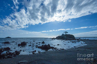 Photograph - Crescent City Lighthouse by Terry Cotton