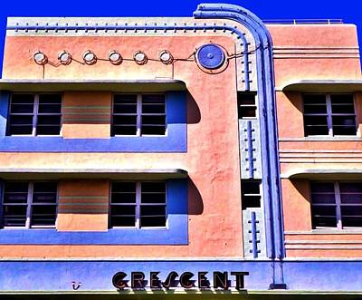 Photograph - Crescent Deco by Benjamin Yeager