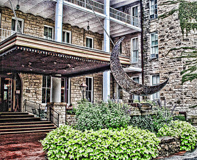Photograph - Crescent Hotel by Kathy Williams-Walkup