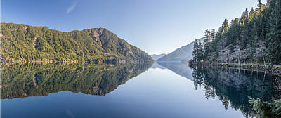 Photograph - Crescent Lake Panorama by Pierre Leclerc Photography