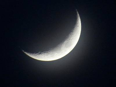 Photograph - Crescent Moon by MTBobbins Photography