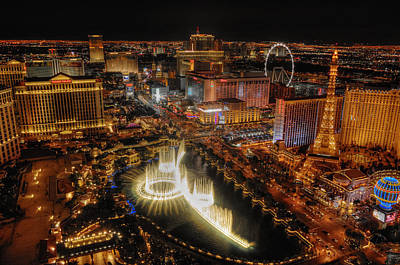 Las Vegas Photograph - Cresendo by Stephen Campbell