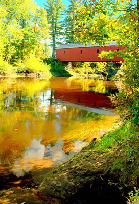 Photograph - Cresson Bridge And Foliage by Caroline Stella