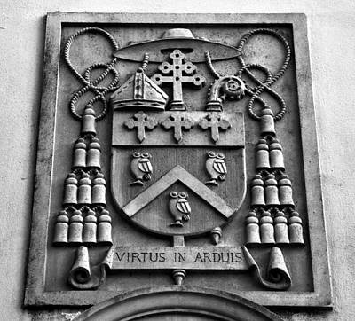 Family Coat Of Arms Photograph - Strength In Arduous Things by David Lee Thompson