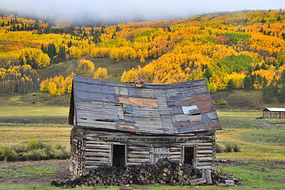 Photograph - Crested Butte Cabin by Ray Mathis