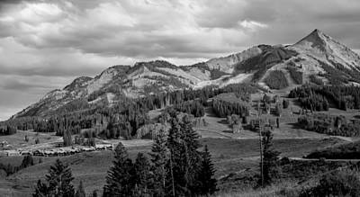 Photograph - Crested Butte Mountain Resort by Gene Sherrill