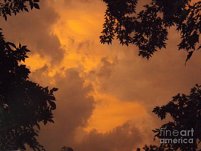 Photograph - Cresting The Storm Clouds by Brenda Brown