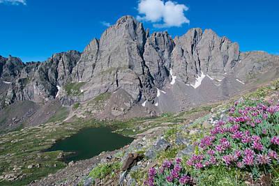 Photograph - Crestone Landscape by Cascade Colors