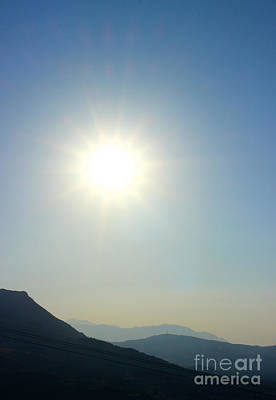 Photograph - Cretan Sun by David Warrington