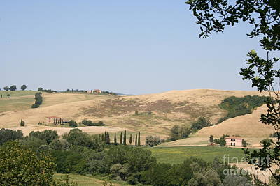 Crete Senesi Art Print by Christiane Schulze Art And Photography