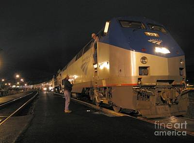 Photograph - Crew Change At Klamath Falls by James B Toy