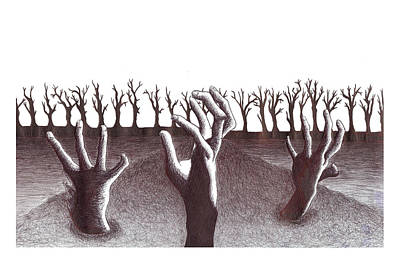 Criatura Art Print by Jesse Samper