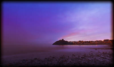 Photograph - Criccieth Castle At Dusk by Beverly Cash