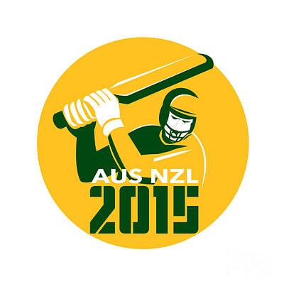 Cricket 2015 Australia New Zealand Art Print
