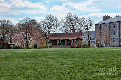 Cricket Field Haverford College Art Print by Kay Pickens