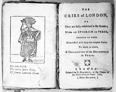 Crying Drawing - Cries Of London, 1784 by Granger