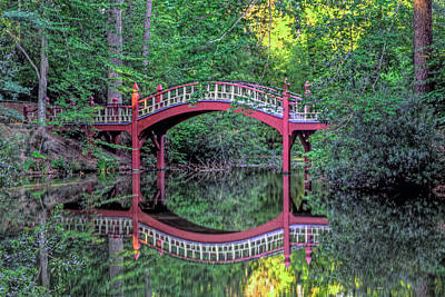 Crim Dell Bridge In Summer Art Print