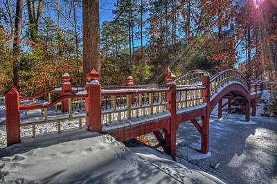 Photograph - Crim Dell Bridge William And Mary by Jerry Gammon