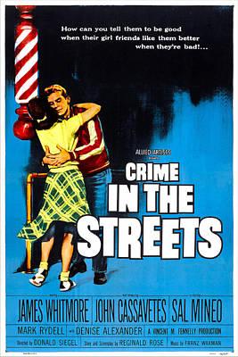 Crime In The Streets, Us Poster, Denise Art Print by Everett