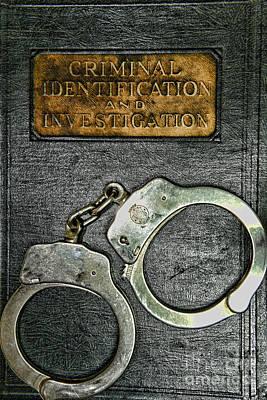 Crime Scene Investigation Art Print by Paul Ward