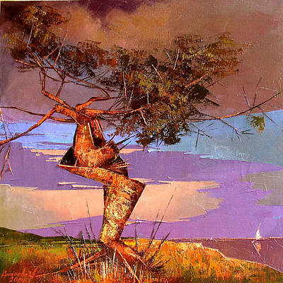 Crimean Pine Print by Anastasija Kraineva