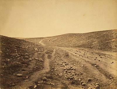 Crimean War 'valley Of Death' Art Print by Library Of Congress