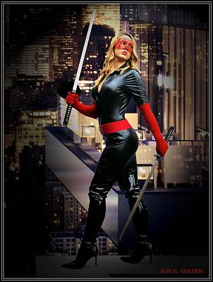 Crimson Avenger The Penthouse Watch Art Print