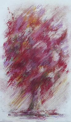 Crimson Bouquet Art Print