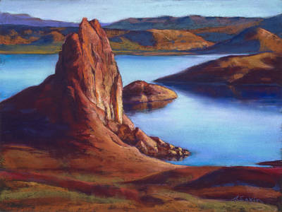 Painting - Crimson Cove by Marjie Eakin-Petty