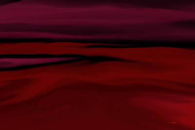 Crimson Fog Art Print by Tim Stringer