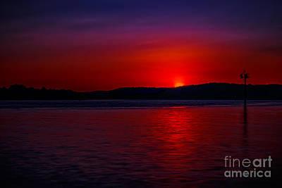 Photograph - Crimson Sunset by Larry McMahon