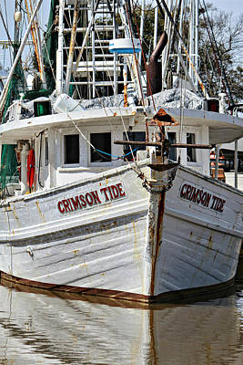 Photograph - Crimson Tide At Fly Creek  Portrait by Lynn Jordan