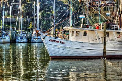 Sailboat Photograph - Crimson Tide In The Sunshine by Michael Thomas