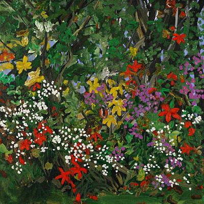 Painting - Crimson Virginia by Julianne Hunter
