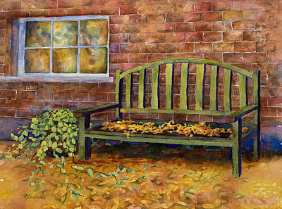 Painting - Crisp by Mary Giacomini