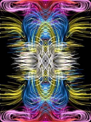 Digital Art - Criss Cross by Kruti Shah