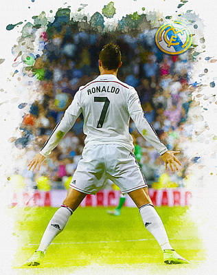 Cristiano Ronaldo Celebrates After Scoring Original
