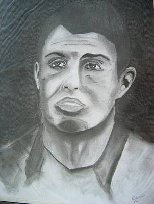 Cristiano Ronaldo Drawing - Cristiano Ronaldo by Manuel Charles Martin