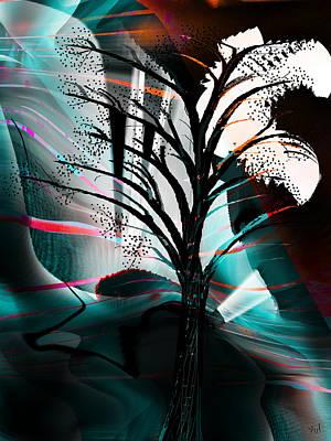 Light Touch Digital Art - Cristina's Light  by Yul Olaivar