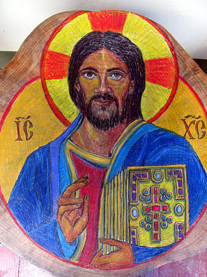 Painting - Cristo Pantocrator by Sarah Hornsby