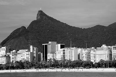 Photograph - Cristo Redentor As Seen From A Boat In The Baia De Guanabara In  by Celso Diniz