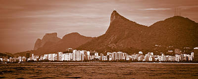 Photograph - Cristo Redentor Seen From Sea by Celso Diniz