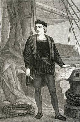 Cristoforo Columbus As A Youth Art Print