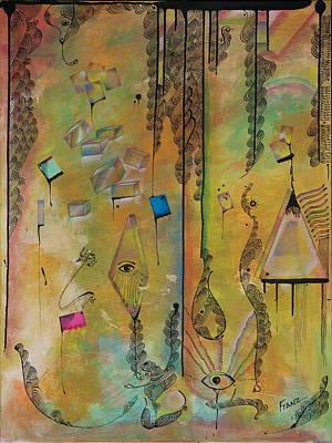 Painting - Critical Matter by Franz Fox