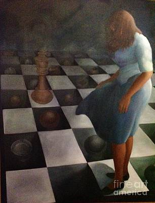 Painting - Critical Move by Clotilde Espinosa