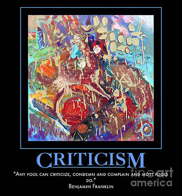 Digital Art - Criticism by Sylvia Greer