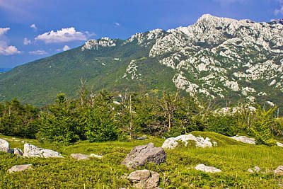 Photograph - Crnopac Peak Of Velebit Mountain by Brch Photography